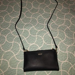 Relic Black Wristlet, Crossbody and Wallet